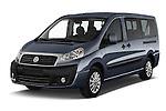 2015 Fiat SCUDO EXECUTIVE 5 Door Combi Angular Front stock photos of front three quarter view