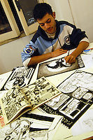 Scuola romana dei fumetti. Scuola privata per giovani illustratori e fumettisti..Roman school of comics. Private school for young illustrators and cartoonists....