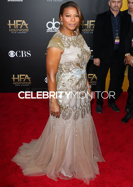 HOLLYWOOD, LOS ANGELES, CA, USA - NOVEMBER 14: Queen Latifah arrives at the 18th Annual Hollywood Film Awards held at the Hollywood Palladium on November 14, 2014 in Hollywood, Los Angeles, California, United States. (Photo by Xavier Collin/Celebrity Monitor)