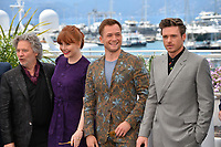 "CANNES, FRANCE. May 16, 2019: Dexter Fletcher, Bryce Dallas Howard, Taron Egerton & Richard Madden  at the photocall for the ""Rocketman"" at the 72nd Festival de Cannes.<br /> Picture: Paul Smith / Featureflash"