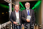 Tom Hanlon with Sinn Féin President Gerry Adams TD at the launch of 'Ireland's Hunger for Justice' at The Rose Hotel on Thursday