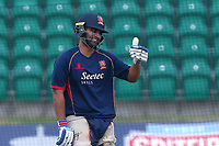 New signing Tamim Iqbal of Essex Eagles gives the thumbs up ahead of Kent Spitfires vs Essex Eagles, NatWest T20 Blast Cricket at The County Ground on 9th July 2017