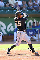 Jae Yun Kim - 2010 Missoula Osprey - Pioneer League, playing against the Ogden Raptors at Lindquist Field, Ogden, UT - 07/25/2010.Photo by:  Bill Mitchell/Four Seam Images..