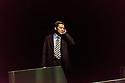 Sidi Larbi Cherkaoui/ Bunkamura Theatre Cocoon presents PLUTO, in the Barbican Theatre. Directed and choreographed by Sidi Larbi Cherkaoui, with lighting design by Willy Cessa. Cast is: Mirai Moriyama (Atom) Tao Tsuchiya (Uran/Helena), Shunsuke Daitoh (Gesicht), Kazutoyo Yoshimi (Professor Ochanomizu, Mitsuru Fukikoshi (Professor Abdullah), Akira Emoto (Professor Tenma).