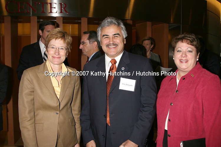 Southern California Health Leadership Panel.Keck School of Medicine of USC.Los Angeles,  CA.November 8, 2007.©2007 Kathy Hutchins / Hutchins Photo....