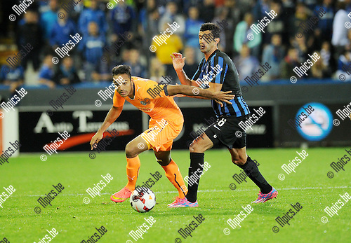 2014-08-28 / Soccer / UEFA Europa League 2014-2015 / Club Brugge - Grasshoppers Club / Mahmoud Kahraba<br />