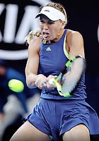 MELBOURNE,AUSTRALIA,27.JAN.18 - TENNIS - WTA World Tour, Grand Slam, Australian Open. Image shows Caroline Wozniacki (DEN). Photo: GEPA pictures/ Matthias Hauer / Copyright : explorer-media