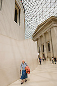 The Great Court of the British Museum, designed by architects Foster and Partners.
