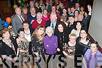 Eileen McElligott(standing front centre)from Tara House Boherbue Tralee,stuffed the Mitchels GAA clubhouse JohnJoe Sheehy Rd Tralee last Saturday night for her 70th birthday celebration with her family and many friends.