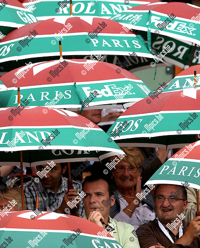 2010-05-26 / Tennis / Roland Garros 2010 / Day 4 / Rain in Paris..Foto: mpics