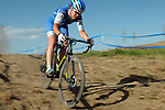 October 17, 2015 - Boulder, Colorado, U.S. - Elite cyclist, Georgia Gould, in action during the U.S. Open of Cyclocross, Valmont Bike Park, Boulder, Colorado.