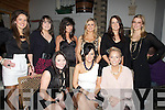 ? century: Margaret Barron who celebrated her 25th Birthday in Bella Bia Restaurant, Tralee on Saturday night with friends. Fron t l-r: Laura Dineen, Margaret Barron and Claire Godley. Back l-r: Sally Ann Leahy, Sarah Leahy, Rachel McCarthy, Orla O'Carroll, Monica McCarthy and Edwina O'Connor...... ....