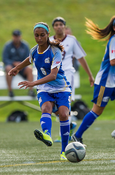 VANCOUVER,BC:SEPTEMBER 10, 2016 -- UBC Thunderbirds University during CIS Canada West women's soccer action against MacEwan University at Thunderbird Stadium in Vancouver, BC, September, 10, 2016. (Rich Lam/UBC Athletics Photo) <br /> <br /> ***MANDATORY CREDIT***