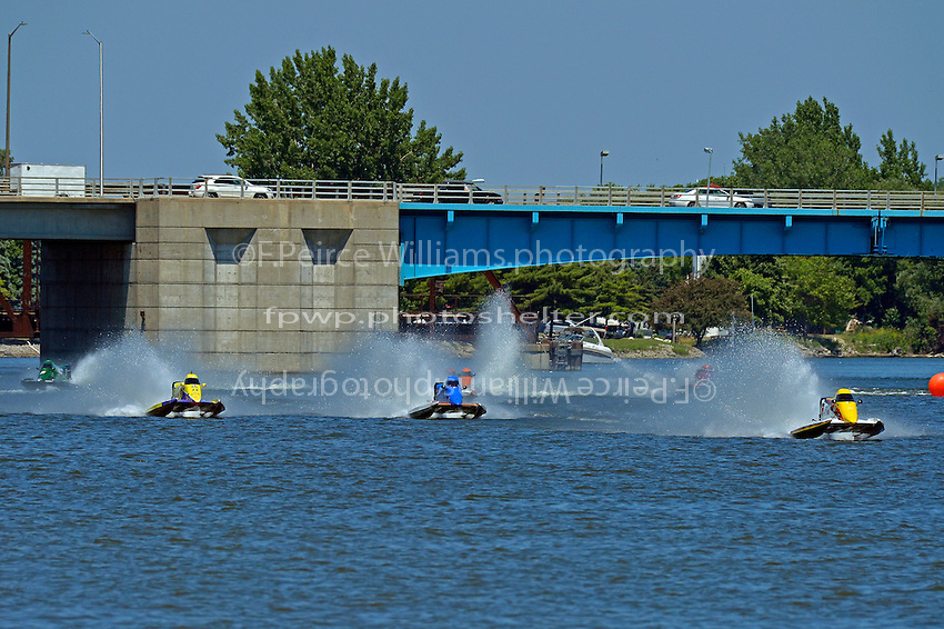 Mike Schubert, #8, David Johnigan, (#91) and Tracy Hawkins, #13   (Sport F1)