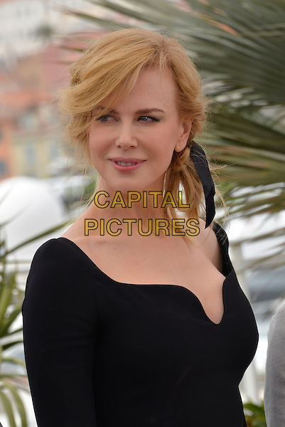 Nicole Kidman .Members of The Jury photocall - 66th International Cannes Film Festival, France 15th May 2013.headshot portrait black  .CAP/PL.©Phil Loftus/Capital Pictures.