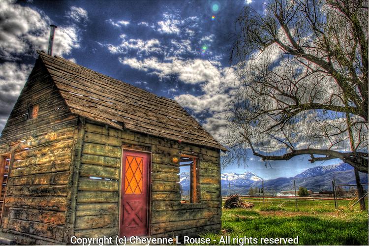 Old Homestead House in Heber, Utah