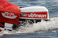 Chris Carrigan, (#13) returns to the pits with a sinking boat.  (SST-45 class)