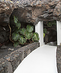Fundación César Manrique, Taro de Tahíche, Lanzarote, Canary islands, Spain