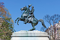 Lafayette Park in Washington DC , public park, located directly across Pennsylvania Avenue from the White House