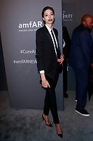 NEW YORK, NY - FEBRUARY 6: Alexandra Agoston arriving at the 21st annual amfAR Gala New York benefit for AIDS research during New York Fashion Week at Cipriani Wall Street in New York City on February 6, 2019. <br /> CAP/MPI99<br /> ©MPI99/Capital Pictures