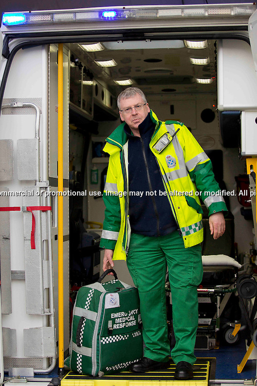Derek Young, Ambulance Paramedic, Edinburgh<br />