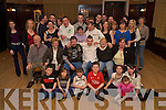 Martin O'Donoghue, An Bhainseach, Killorglin, pictured with family and friends as he celebrated his 21st in the Manor Inn, Killorglin on Saturday night......