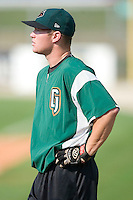 Augusta outfielder Ben Copeland during batting practice at Fieldcrest Cannon Stadium in Kannapolis, NC, Saturday, June 17, 2006.
