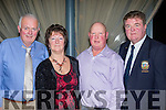 Diners<br /> ---------<br /> Having fun at the Tralee golf club Captains dinner in the Ballyroe Heights hotel, Tralee last Saturday were L-R Ger Griffin, Markie Tarrant, John Chester and Ger O'Connor, TGC captain