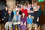 Padraig Mac Fhearghusa, Oakpark Tralee, celebrates his 70th Birthday with family and friends at the Meadowlands Hotel on Saturday