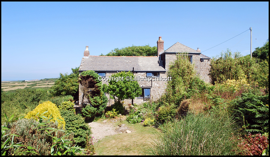 BNPS.co.uk (01202 558833)Pic: LillicrapChilcott/BNPS<br /> <br /> Writers' retreat...a short gallop from the sea.<br /> <br /> A pretty Cornish cottage that was rented by DH Lawrence during the war and owned by Michael Morpurgo when he wrote War Horse is now on the market for £750,000.<br /> <br /> The two writers had very different experiences in the village of Zennor on the north Cornish coast as Lawrence was accused of spying for the Germans and eventually exiled from the county while Morpurgo's summers there over eight years were considerably quieter.<br /> <br /> But both men used the location as inspiration in their writing, making Tower House the perfect place for wannabe writers looking to escape to the coast.<br /> <br /> The granite home has been in the current owners' hands for the last 25 years but it is now on the market with estate agents Lillicrap Chilcott.