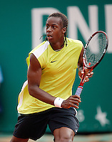 17-4-06, Monaco, Tennis,Master Series, Monfils in his match against Olivier Rochus