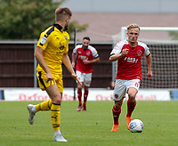Fleetwood Town's Kyle Dempsey in action<br /> <br /> Photographer David Shipman/CameraSport<br /> <br /> The EFL Sky Bet League One - Oxford United v Fleetwood Town - Saturday August 11th 2018 - Kassam Stadium - Oxford<br /> <br /> World Copyright &copy; 2018 CameraSport. All rights reserved. 43 Linden Ave. Countesthorpe. Leicester. England. LE8 5PG - Tel: +44 (0) 116 277 4147 - admin@camerasport.com - www.camerasport.com