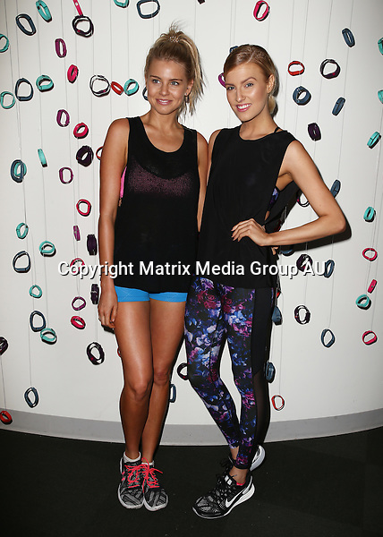 2 DECEMBER 2015 SYDNEY AUSTRALIA<br /> <br /> NON EXCLUSIVE <br /> <br /> Fitbit releases their new colour range with Natasha Oakley <br /> <br /> *No internet without clearance*.<br /> MUST CALL PRIOR TO USE +61 2 9211-1088. Matrix Media Group.Note: All editorial images subject to the following: For editorial use only. Additional clearance required for commercial, wireless, internet or promotional use.Images may not be altered or modified. Matrix Media Group makes no representations or warranties regarding names, trademarks or logos appearing in the images.
