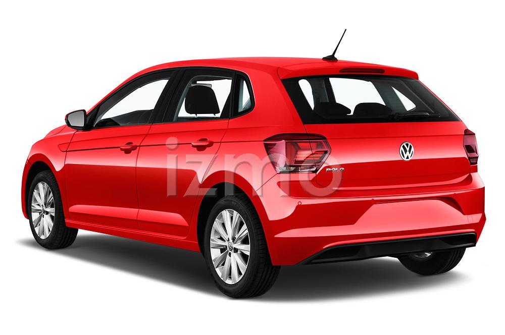 Car pictures of rear three quarter view of a 2019 Volkswagen Beetle S 5 Door Hatchback angular rear
