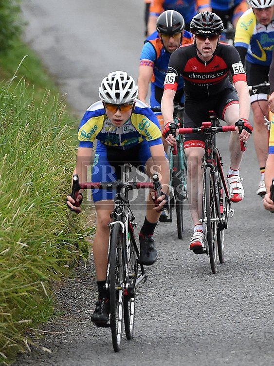 Ciaran Connor riding in the first round of the Mark Mullen League hosted by Drogheda Wheelers. Photo:Colin Bell/pressphotos.ie