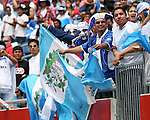 16 June 2007: Guatemala fans. The Canada Men's National team defeated the Guatemala Men's National Team 3-0 at Gillette Stadium in Foxboro, Massachusetts in a 2007 CONCACAF Gold Cup quarterfinal.