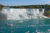 American Falls viewed from Canada side of Niagara River