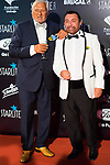 Jose Manuel Parada (r) attends Photocall previous to Starlite Gala 2019. August 11, 2019. (ALTERPHOTOS/Francis González)