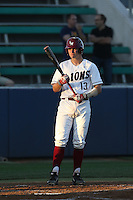 Cassidy Brown (13) of the Loyola Marymount Lions bats during a game against the Gonzaga Bulldogs at Page Stadium on March 27, 2015 in Los Angeles, California. Loyola Marymount defeated Gonzaga 6-5.(Larry Goren/Four Seam Images)