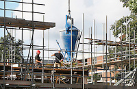 Nederland  Amsterdam 2016.  Nieuwbouw in Amsterdam-West.  Foto Berlinda van Dam / Hollandse hoogte