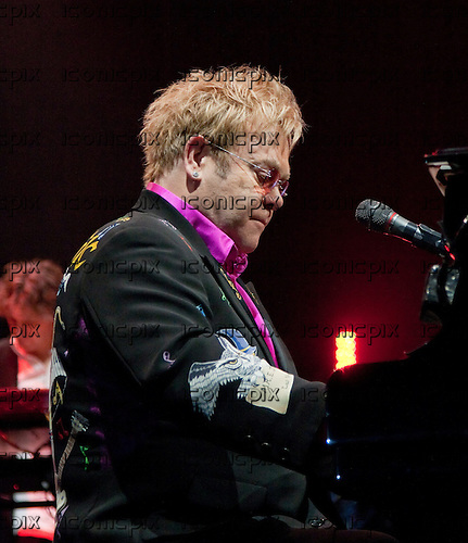 Elton John - performing live on the Greatest Hits Tour at the SECC Arena in Glasgow Scotland UK - 10 Jun 2011.  Photo Credit: Pauline Keightley/Music Pics Ltd/IconicPix
