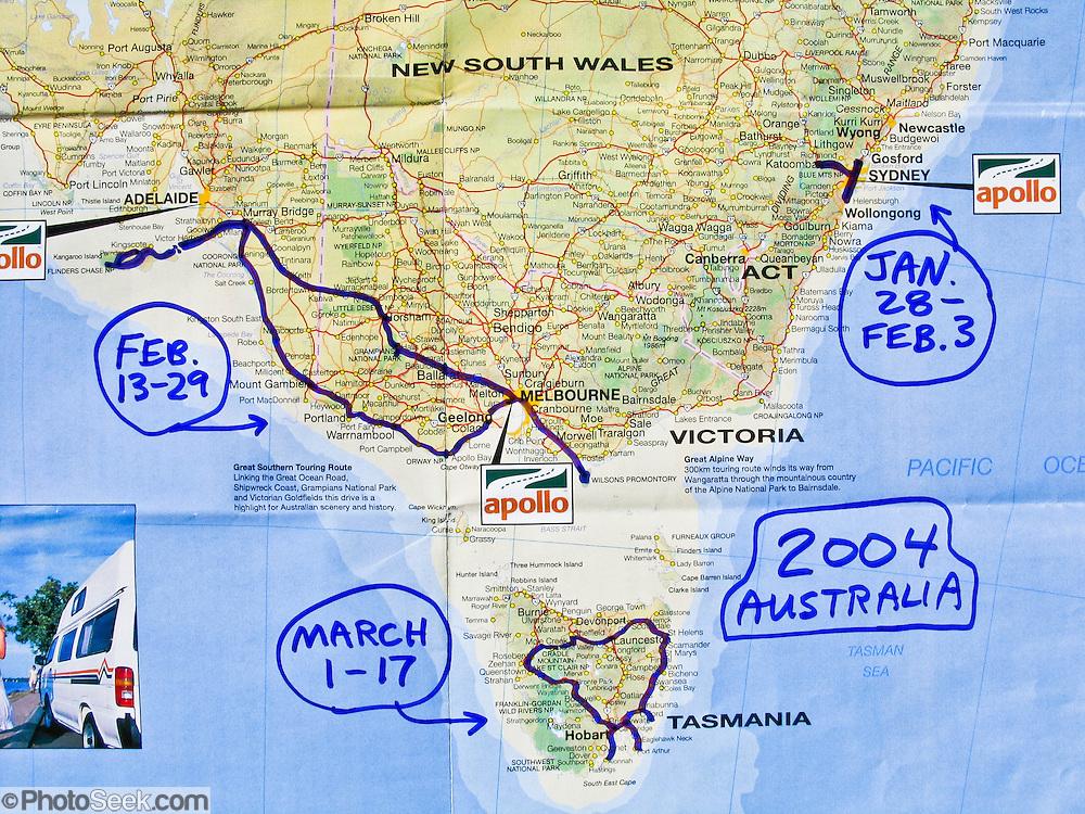 Map Of Nsw And Victoria Australia.Map Of Nsw Victoria And South Australia Portfolio Photoseek Com