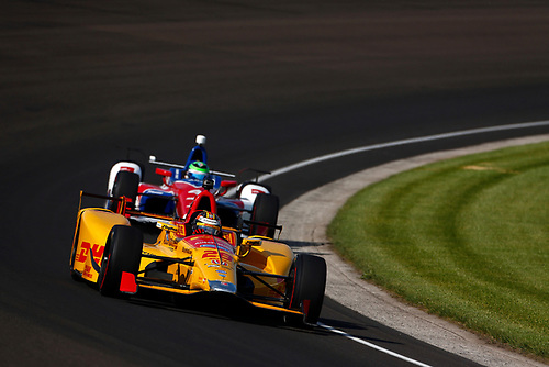 Verizon IndyCar Series<br /> Indianapolis 500 Practice<br /> Indianapolis Motor Speedway, Indianapolis, IN USA<br /> Tuesday 16 May 2017<br /> Ryan Hunter-Reay, Andretti Autosport Honda<br /> World Copyright: Phillip Abbott<br /> LAT Images<br /> ref: Digital Image abbott_indyP_0517_11319