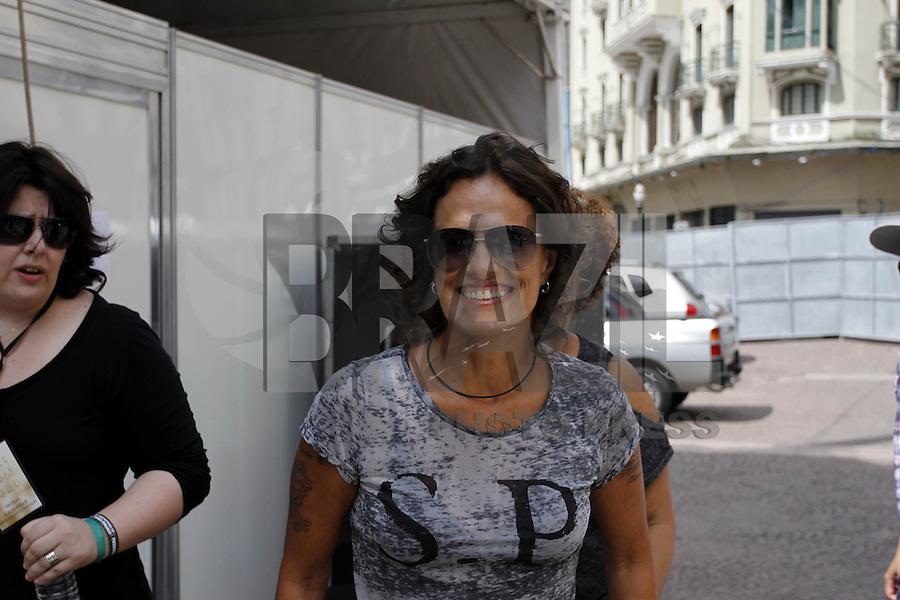 SAO PAULO, SP, 25 DE JANEIRO 2013 - SHOW 459 ANOS DE SÃO PAULO - ANHANGABAÚ - São Paulo completa 459 anos nessa sexta,25 e conta com o Show de Zelia Ducan. (FOTO: PADUARDO / BRAZIL PHOTO PRESS).