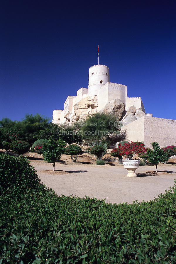 Nakhl, Oman, Arabian Peninsula, Middle East - Nakhl Fort.