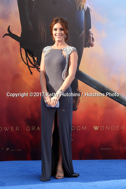 """LOS ANGELES - MAY 25:  Amy Pemberton at the """"Wonder Woman"""" Los Angeles Premiere at the Pantages Theater on May 25, 2017 in Los Angeles, CA"""