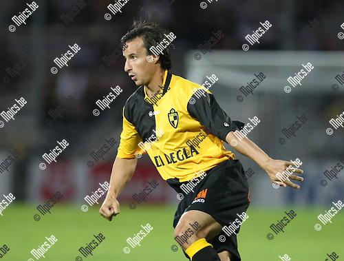2009-08-22 / Voetbal / Cofidis Cup / K. Lierse SK - RFC Hoei / Garry De Graef..Foto: Maarten Straetemans (SMB)