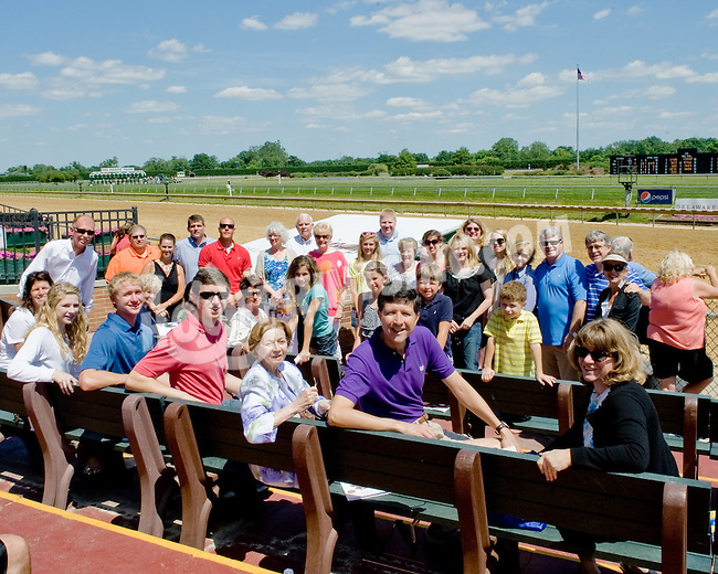 Pot of Gold and family at Delaware Park on 6/16/12