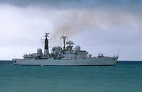 - Royal Navy, guided-missile frigate Glasgow....- Royal Navy, fregata lanciamissili Glasgow