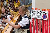 Kärntnernudelfest (Carinthian Dumplings Festival) in Oberdrauburg 2011. No parking!